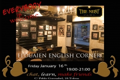 Come and practice your english among friends. free and fun!