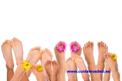 El cuidado de los pies es muy importante y usted lo sabe. servicio de pod�logo a domicilio