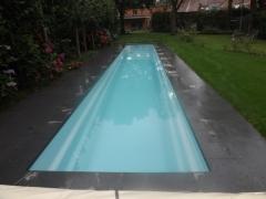 Piscina de poliester especial dise�ada para nadadores, sin necesidad de salir de su casa