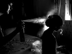 fotograf�a de los preparativos de la novia - fotograf�a profesional en badajoz