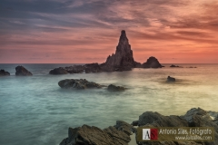 Parque natural de Cabo de Gata, cala de las sirenas