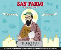 Campa�a D�a de la Publicidad. San Pablo, el primer copy creativo.