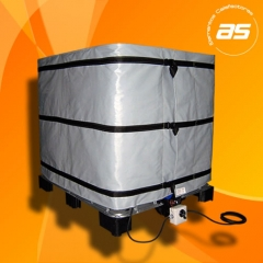 Manta calefactora tanques IBC de 1000 litros