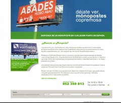 Diseño de landing page copemosasur para campaña adwords