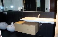 Baño en duplex
