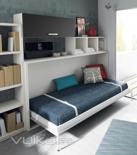 Foto dormitorio juvenil dise o jjp infinity 24 cama abatible - Infinity jjp ...