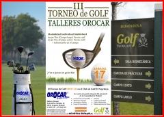Iii torneo de golf talleres orocar dirigido por jose garcia con gran exito de participaci�n gracias