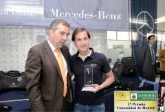 Jose garcia gerente de talleres orocar participante en el torneo mercedes-benz 1� premio