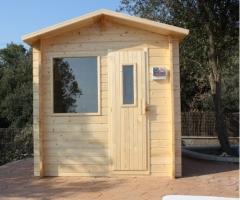 Fabricaci�n y venta de saunas de exterior
