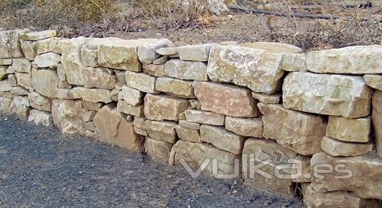 Piedras archidona - Muro de piedra natural ...