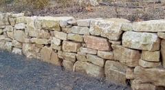 Piedra natural muro
