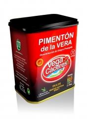 Pimenton de la vera lata de 75 g. neto dulce vegacaceres