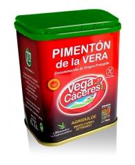 Pimenton de la vera agridulce lata 75 g. neto vegacaceres