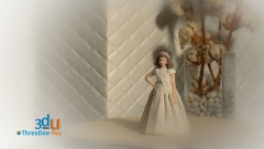 Figuras personalizadas para tartas de comuni�n y cumplea�os de threedee-you foto-escultura 3d-u