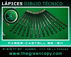 L�pices Dibujo T�cnico Faber-Castell | The Green Copy Papeler�a Villanueva de la Ca�ada MADRID
