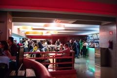 Panor�mica del snack bar del Rolling Dance & Burger.