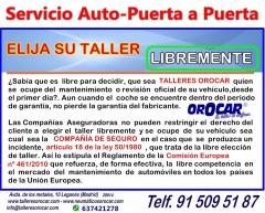 Talleres orocar, servicio auto-puerta a puerta, coche de sustituci�n gratis, revisiones y mantenimie