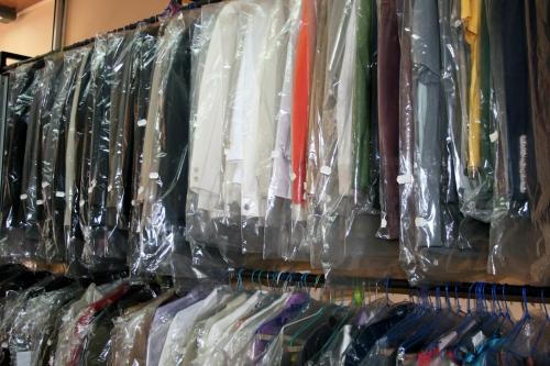 Almacen ropa terminada de Tintoreria