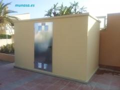 Ofabricaci�n de casetas, cuartos,  arquetas de hormig�n prefabricado para instalaci�n de contadores