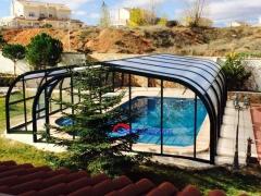 Cubiertas para piscina, laterales deslizantes
