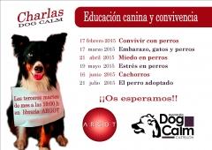 Charlas gratuitas de educación canina y convivencia en librería argot, castellón