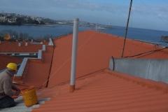 Pintura tejado.