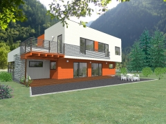 Casa de madera ecológica liencres 237