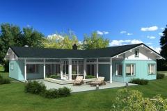 Casa de Madera Ecol�gica Zurita 127
