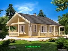 Casa de Madera Ecol�gica Corrales 74