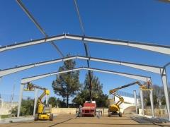 Estructura metalica IES San Mateo