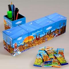 Skyline cubes barcelona
