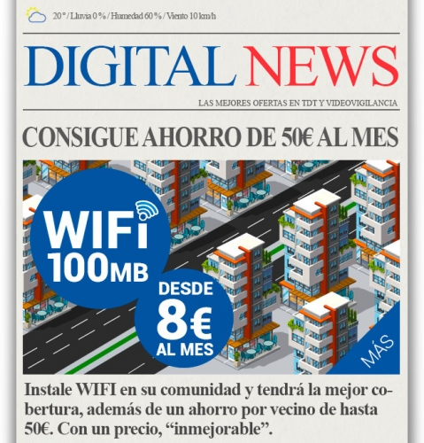 wifi en edificios de  comunidades de vecinos