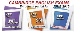 Cambridge english exams azken egunak matrikulatzeko /�tlimos d�as de matr�cula