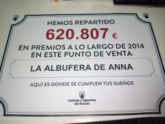 Loteria Albufera de Anna / Decimos personalizados con su foto gratis / PATO AFORTUNADO