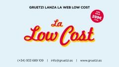 Anuncio p�gina web low cost. La Low Cost, by Gruetzi