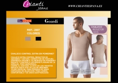 Ref 2415 chaleco hombre extra powernet marca geordi colombiano