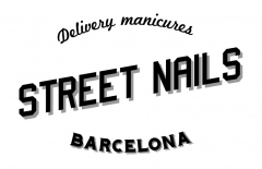 Dise�o del logotipo Street Nails, delivery manicures
