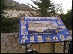 Mural informativo de Valle de Abdalajís (Málaga)