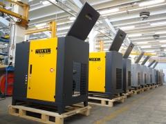 Fabricacion compresores tornillo nuair gama  sirio vega