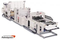 Una de nuestras m�quinas para la  FABRICACION de  BOLSAS de PLASTICO