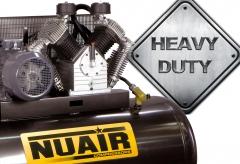 Gama compresores de aire heavy dutty, para trabajos duros