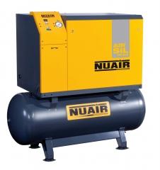 Compresor de piston insonorizado gama nuair sobre caldera