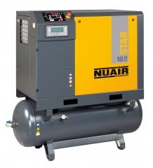 Compresor de tornillo star de nuair todo incluido compresor de tornillo mas tratamiento y caldera