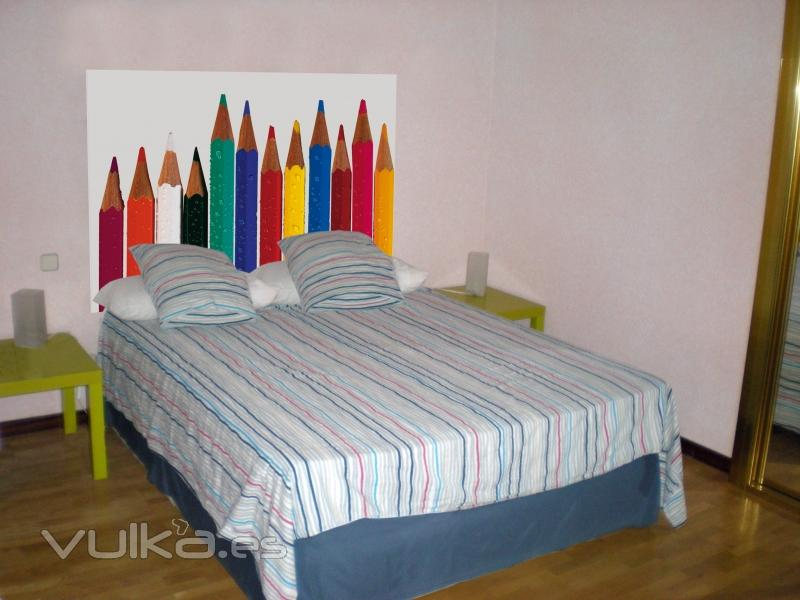 Cabeceros de camas decorar tu casa es - Diseno de cabeceros de cama ...