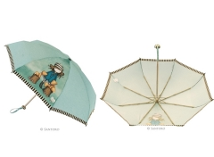 Paraguas plegable funda rígida the fox  santoro gorjuss  ref.-760011tf