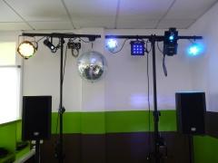 Pack iluminacion discoteca movil
