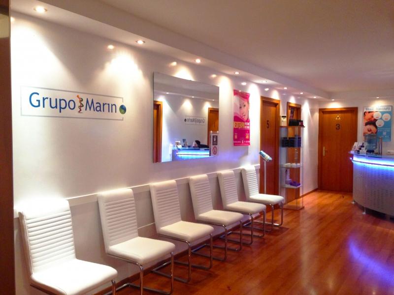 Grupo Marin - Tratamientos l�ser, acupuntura, quiromasajista, psicologia, estetica medica