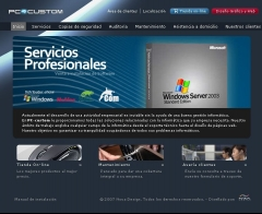Web de pccustom - tienda de inform�tica (www.pccustom.es)