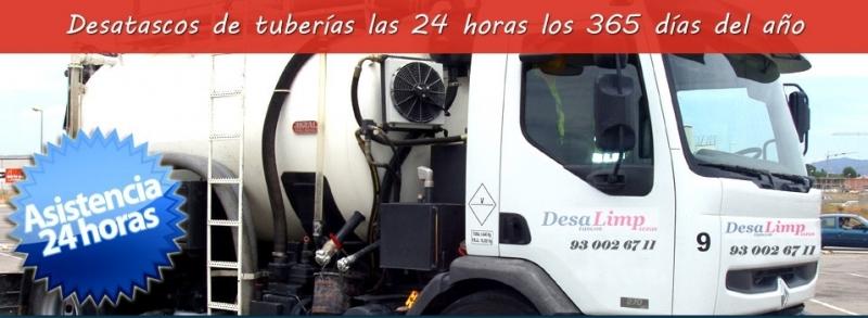 CUBAS DESATASCOS DE TUBERIAS 24 HORAS EN GAVA