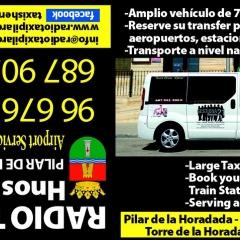 RADIO TAXI PILAR DE HORADADA TRASLADOS Y SERVICIOS AIRPORT SERVICE ALICANTE MURCIA TRASFERS 24 HOURS 365 DAIS 0034  96 676 78 30
